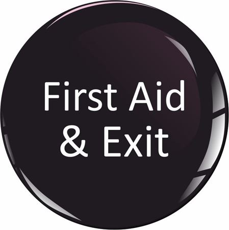 Picture for category First Aid / Exit Stickers