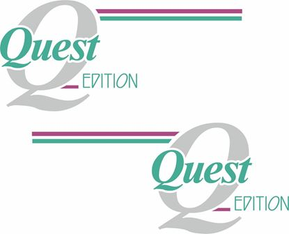 Picture of Metro Quest replacement side  Decals / Stickers