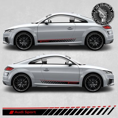 Picture of TT RS Audi Sport side Stripes