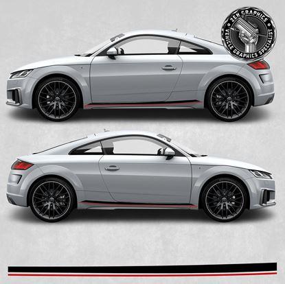 Picture of TT Audi Sport side Stripes