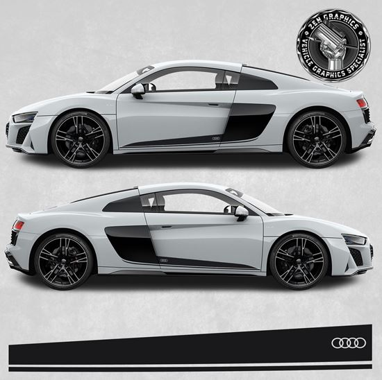 Picture of R8 side Stripes