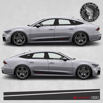 Picture of A7 Audi Sport side Stripes
