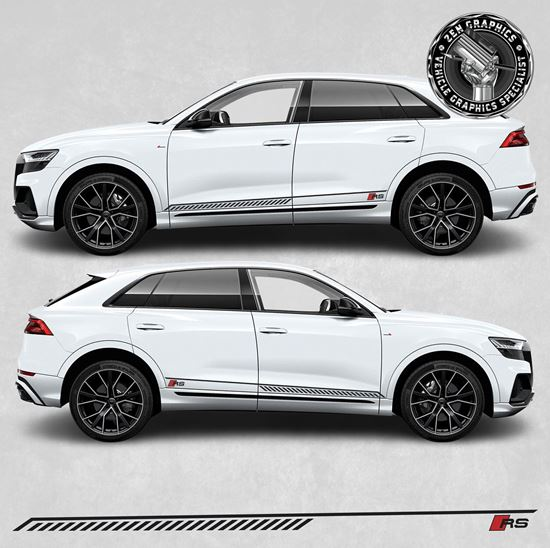 Picture of RSQ8 side Stripes