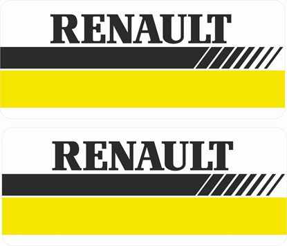 Picture of Renault Decals / Stickers