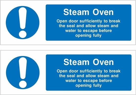 Picture of Steam Oven Decals / Stickers