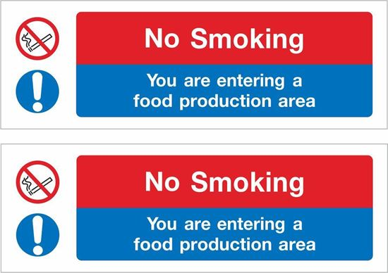Picture of No Smoking Decals / Stickers