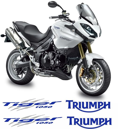 Picture of Triumph Tiger 1050 2007 - 13 replacement Decals / Stickers