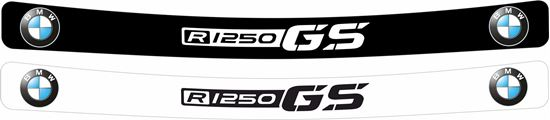 Picture of BMW F1250 GS Helmet Visor Decal / Sticker