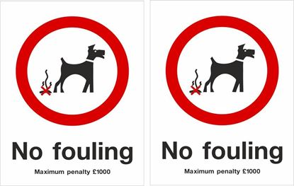 Picture of No fouling Decals / Stickers