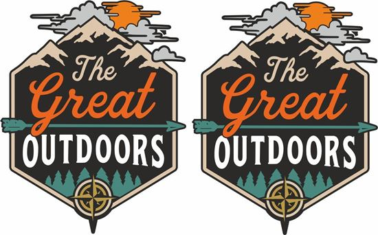 Picture of The great outdoors Decals / Stickers