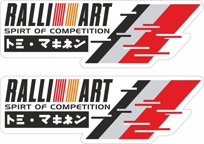 Picture of Ralliart spirit of competition Decals / Stickers