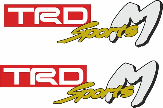 Picture of TRD Sports M Decals / Stickers