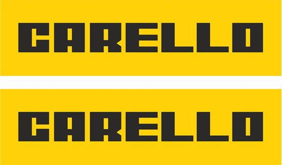 Picture of Carello Decals / Stickers