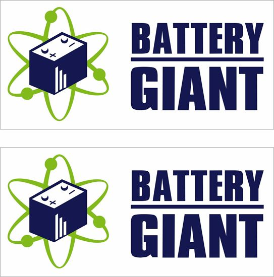 Picture of Battery Giant Decals / Stickers