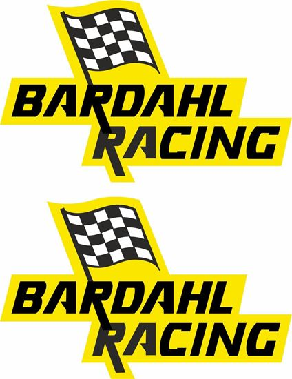 Picture of Bardahl Racing Decals / Stickers