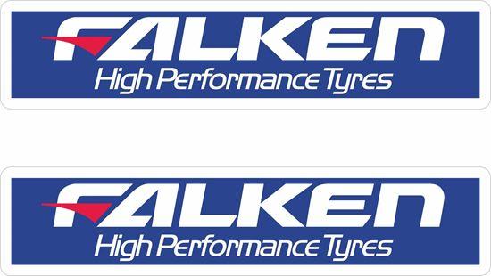 Picture of Falken Tyres Decals / Stickers