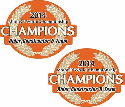 Picture of Honda Repsol 2014 MotoGP Champions Decals / Stickers