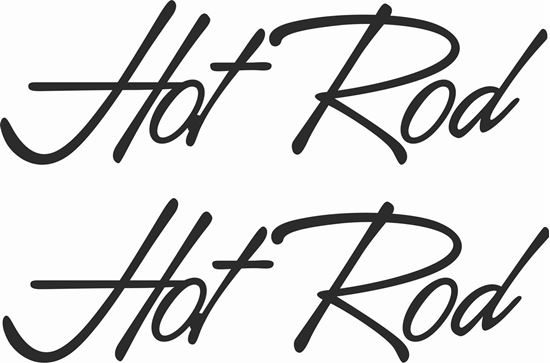 Picture of Hot Rod Decals / Stickers
