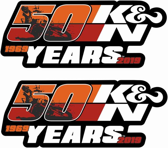 Picture of K&N 50 Years Decals / Stickers