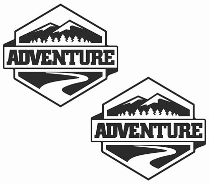 Picture of Adventure Decals  / Stickers