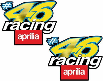 Picture of 46 racing aprilia Decals / Stickers