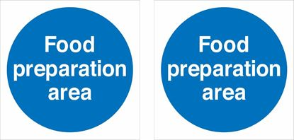 Picture of Food preparation area Decals / Stickers