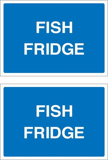 Picture of Fish fridge Decals / Stickers