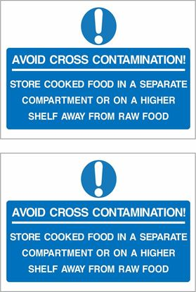 Picture of Avoid cross contamination... Decals / Stickers