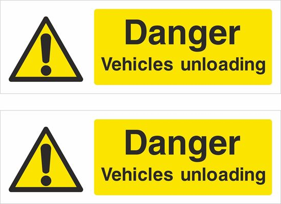 Picture of Danger vehicles uploading Decals / Stickers