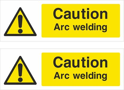 Picture of Caution Arc welding Decals / Stickers