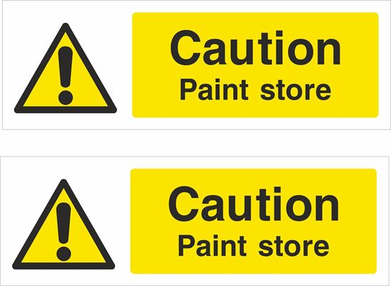 Picture of Paint store Decals / Stickers