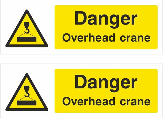 Picture of Overhead crane Decals / Stickers