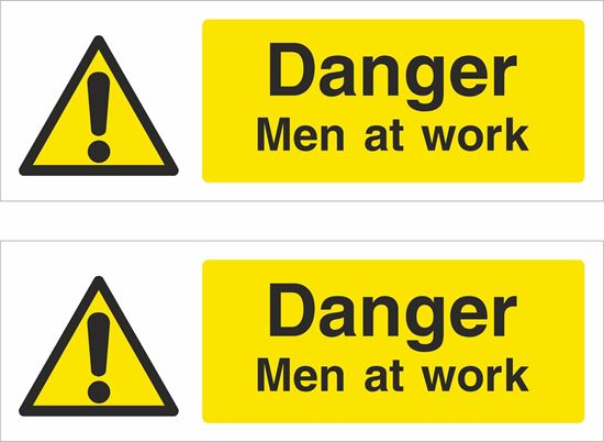 Picture of Men at work Decals / Stickers