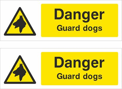 Picture of Guard dogs Decals / Stickers