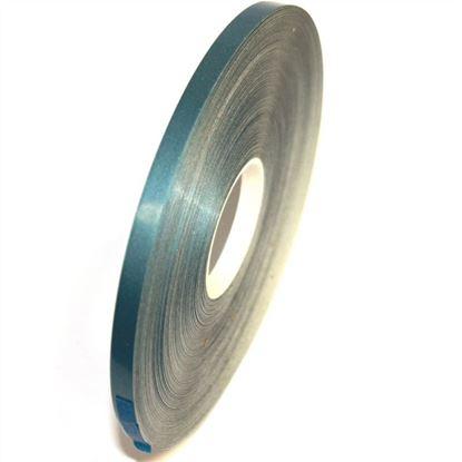 Picture of Blue Light metallic Gloss cast PVC Stripe (6mm x 35meters)