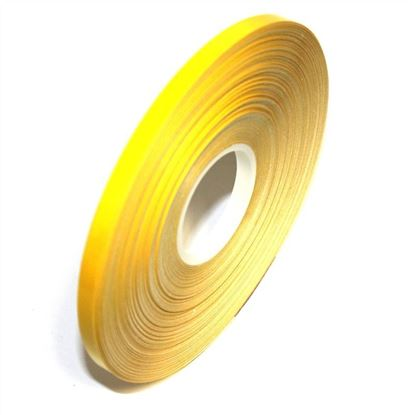 Picture of REFLECTIVE Yellow cast PVC Stripe (6mm x 35meters)