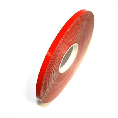 Picture of REFLECTIVE Red cast PVC Stripe (6mm x 35meters)
