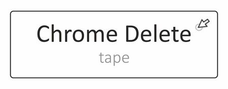 Picture for category Chrome Delete Tape