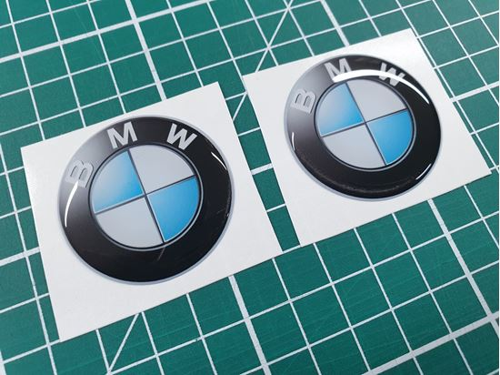 Picture of BMW 40mm Adhesive Gel Badges