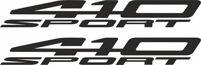 Picture of Lotus Evora 410 Sport replacement side Decals / Stickers