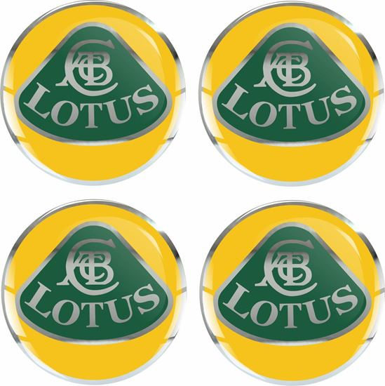 Picture of Lotus Adhesive Badges