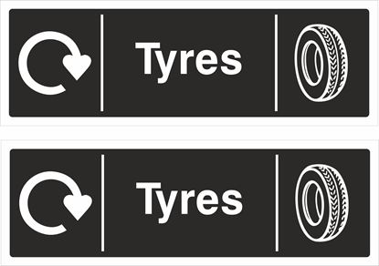 Picture of Tyres Decals / Stickers