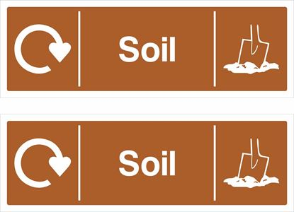 Picture of Soil Decals / Stickers
