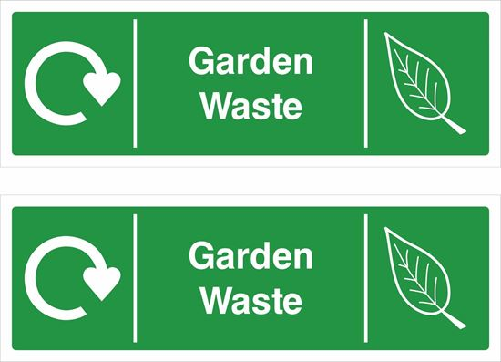 Picture of Garden Waste Decals / Stickers