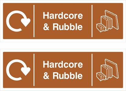 Picture of Hardcore & Rubble Decals / Stickers