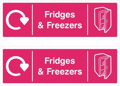 Picture of Fridges & Freezers Decals / Stickers