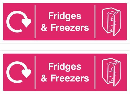 Picture of Fridges & Freezers Decals / Stickers