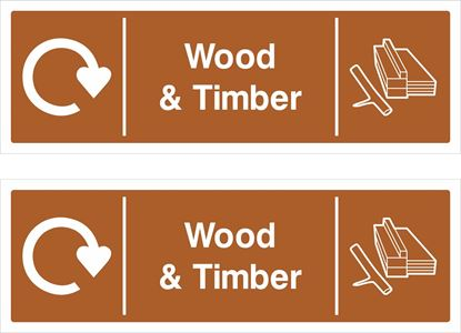 Picture of Wood & Timber Decals / Stickers