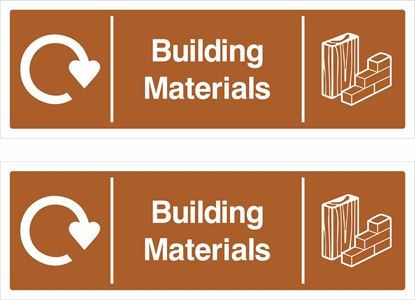 Picture of Building Materials Decals / Stickers