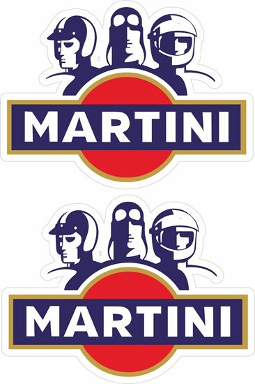 Picture of Martini Decals / Stickers